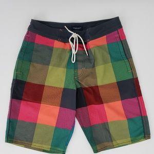 American Eagle   Men's Bright Patten Board Shorts